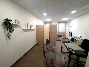 salle traitement ostéopathe lardenne